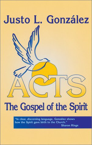 Acts The Gospel of the Spirit  2001 edition cover