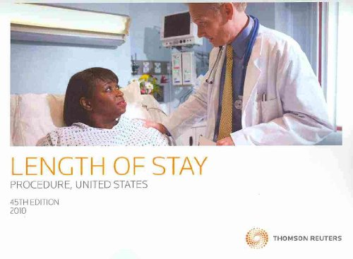 Length of Stay by Diagnosis and Operation, United States 2009:  2010 edition cover