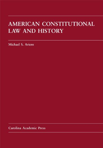 American Constitutional Law and History  N/A edition cover