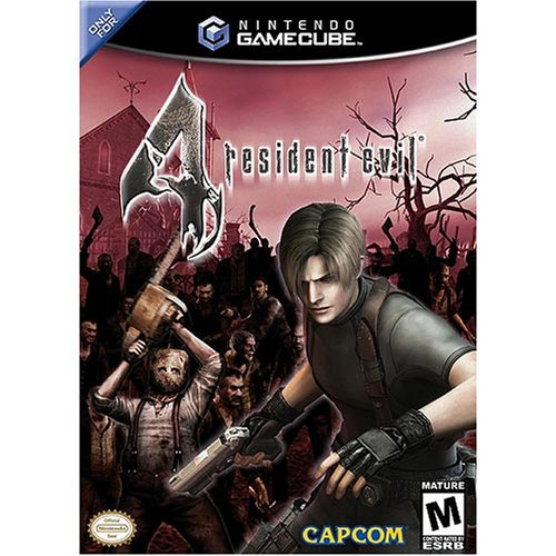Resident Evil 4 GameCube artwork