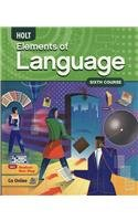 Holt Elements of Language   2008 (Student Manual, Study Guide, etc.) 9780030941986 Front Cover