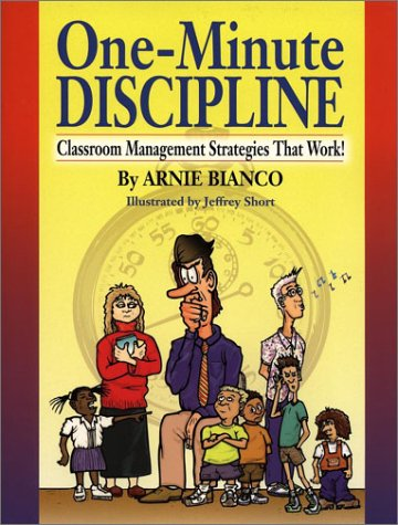 One-Minute Discipline Classroom Management Strategies That Work  2002 edition cover