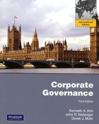 Corporate Governance  3rd 2010 edition cover