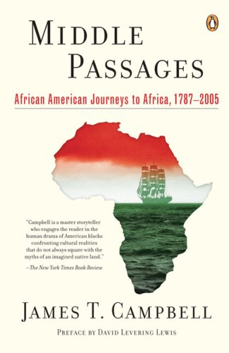 Middle Passages African American Journeys to Africa, 1787-2005 N/A edition cover