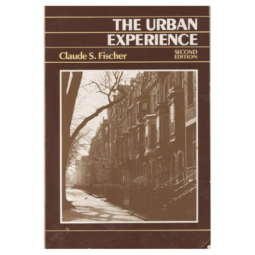 Urban Experience  2nd 1984 edition cover