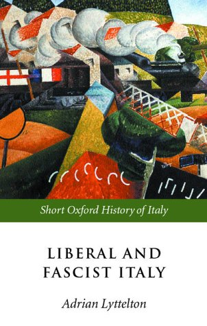 Liberal and Fascist Italy 1900-1945  2001 edition cover