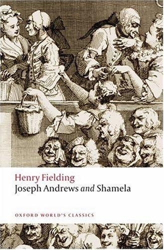 Joseph Andrews and Shamela  2nd edition cover