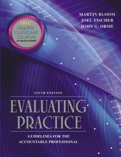 Evaluating Practice Guidelines for the Accountable Professional 5th 2006 (Revised) edition cover