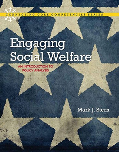 Engaging Social Welfare An Introduction to Policy Analysis  2015 edition cover