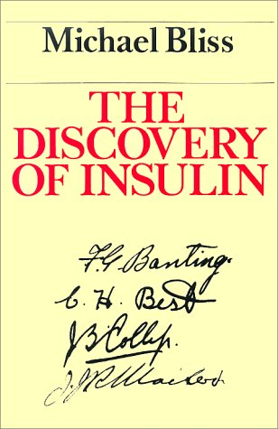 Discovery of Insulin  N/A 9780226058986 Front Cover