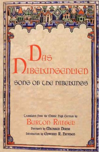 Nibelungenlied Song of the Nibelungs  2008 edition cover