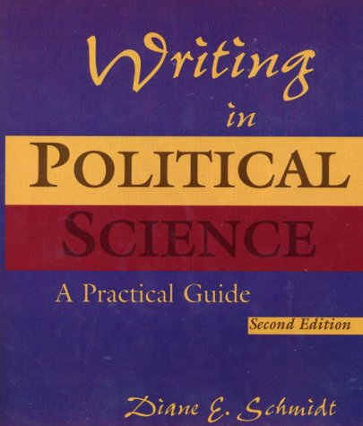 Writing in Political Science  2nd 2000 (Student Manual, Study Guide, etc.) 9780321069986 Front Cover
