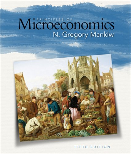 Principles of Microeconomics  5th 2009 edition cover