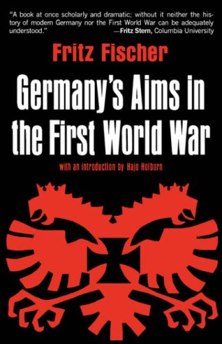 Germany's Aims in the First World War   1967 edition cover