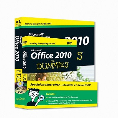 Microsoft Office 2010 for Dummies   2010 edition cover