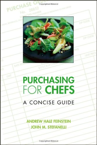 Purchasing for Chefs A Concise Guide  2007 edition cover