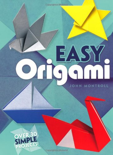 Easy Origami   1992 9780486272986 Front Cover