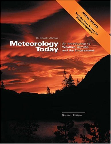 Meteorology Today (Media Update with MeteorologyNow and InfoTrac)  7th 2003 edition cover