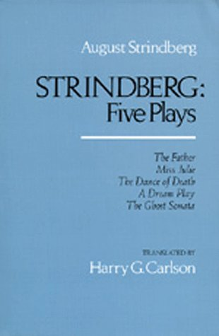Strindberg - Five Plays   1983 edition cover