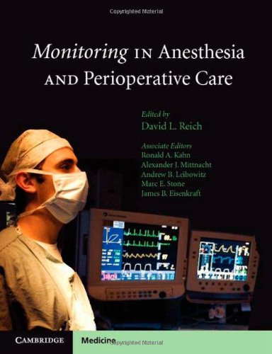 Monitoring in Anesthesia and Perioperative Care   2011 edition cover