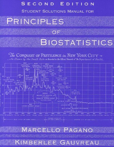 Principles of Biostatistics  2nd 2001 9780534373986 Front Cover