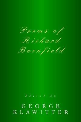 Poems of Richard Barnfield  N/A 9780595367986 Front Cover