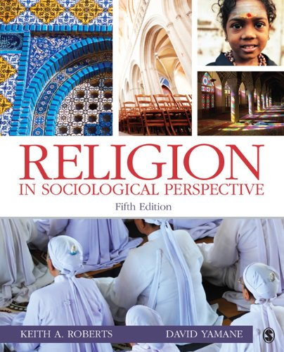 Religion in Sociological Perspective  5th 2012 edition cover