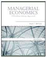 Managerial Economics A Problem-Solving Approach 2nd 2010 edition cover