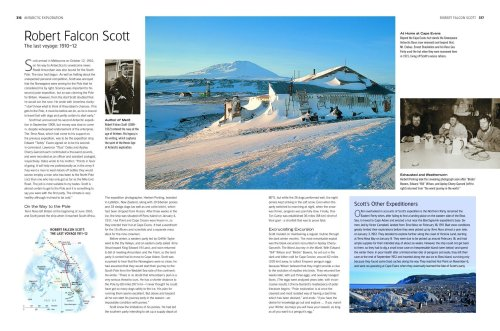 Antarctica Secrets of the Southern Continent  2008 edition cover
