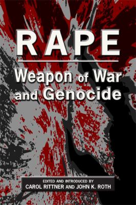 Rape Weapon of War and Genocide  2012 edition cover