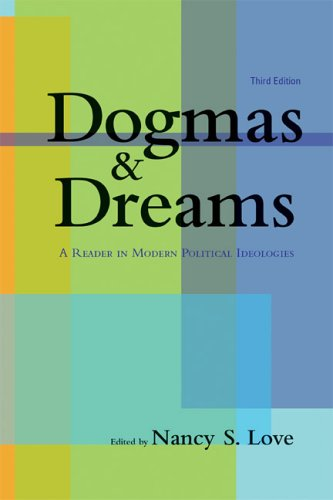 Dogmas and Dreams A Reader in Modern Political Ideologies 3rd 2006 (Revised) edition cover