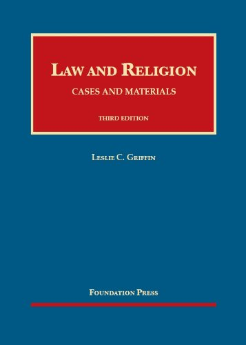 Law and Religion: Cases and Materials  2013 edition cover