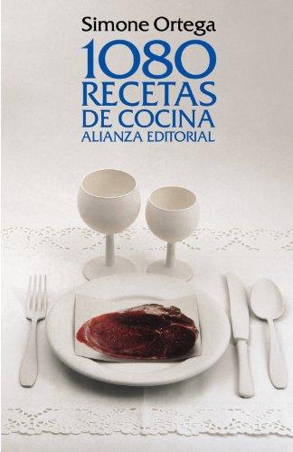 1080 recetas de cocina / 1080 cooking recipes:  2011 edition cover