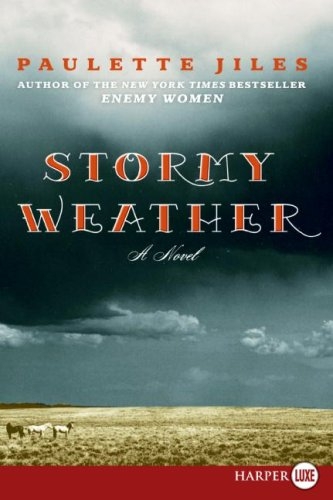 Stormy Weather  Large Type  9780061340987 Front Cover