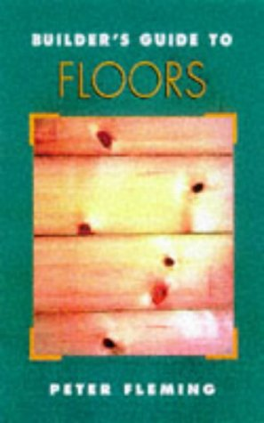Builder's Guide to Floors   1998 9780070218987 Front Cover