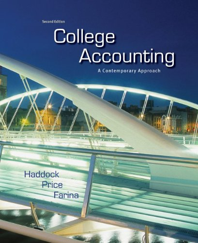College Accounting - A Contemporary Approach  2nd 2012 edition cover