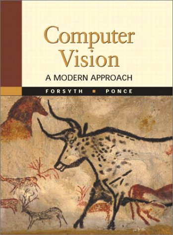 Computer Vision A Modern Approach  2003 edition cover