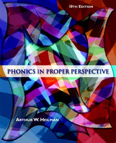 Phonics in Proper Perspective  10th 2006 (Revised) edition cover