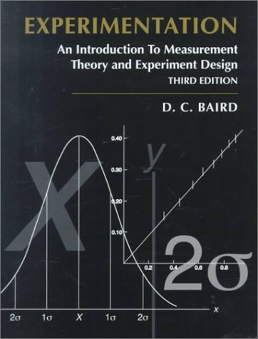 Experimentation An Introduction to Measurement Theory and Experiment Design 3rd 1995 edition cover