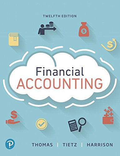 Financial Accounting:   2018 9780134725987 Front Cover