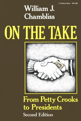 On the Take From Petty Crooks to Presidents 2nd 1988 edition cover
