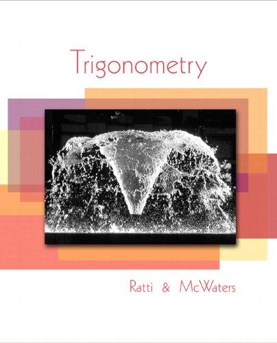 Trigonometry   2010 edition cover