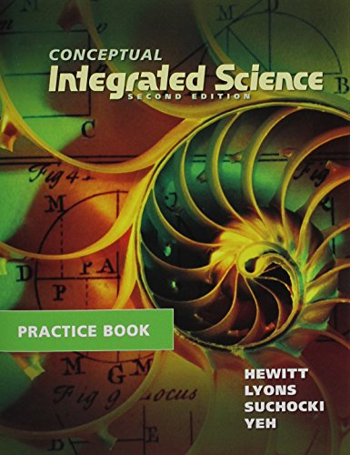 Practice Book for Conceptual Integrated Science  2nd 2013 edition cover