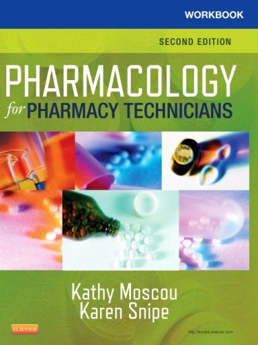 Workbook for Pharmacology for Pharmacy Technicians  2nd edition cover