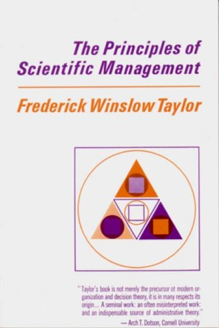 Principles of Scientific Management   1967 edition cover