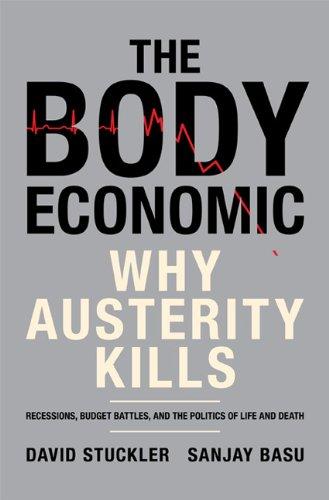 Body Economic Why Austerity Kills  2013 edition cover