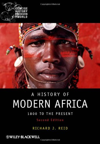 History of Modern Africa 1800 to the Present 2nd 2012 edition cover