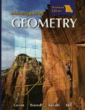 Geometry, Grades 9-12: McDougal Littell High School Math Missouri 1st 2007 9780618922987 Front Cover
