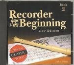 Recorder from the Beginning: Cassette 2  0 edition cover