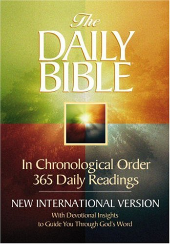 Daily Bible  4th 1999 9780736901987 Front Cover